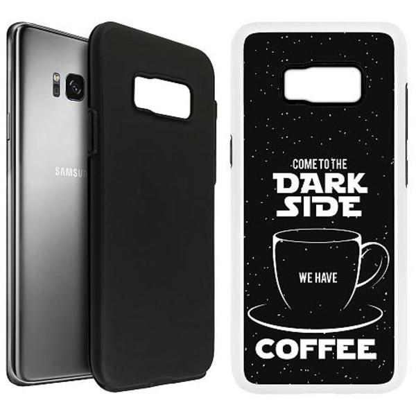 Samsung Galaxy S8 Duo Case Vit Dark Side