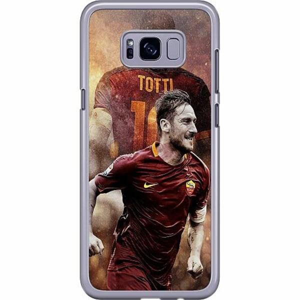 Samsung Galaxy S8 Hard Case (Transparent) Francesco Totti