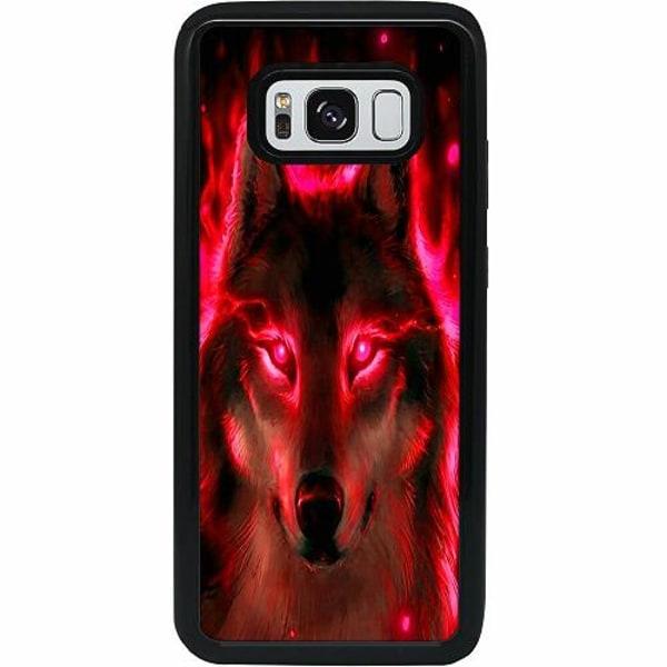 Samsung Galaxy S8 Heavy Duty 2IN1 Statement Wolf 1055