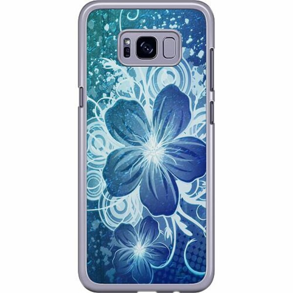 Samsung Galaxy S8 Plus Hard Case (Transparent) Blommor