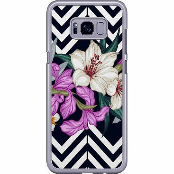 Samsung Galaxy S8 Plus Hard Case (Transparent) Blommor