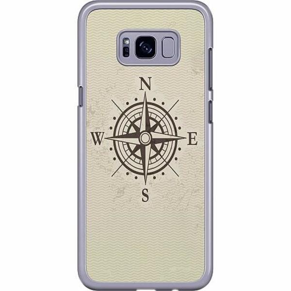Samsung Galaxy S8 Plus Hard Case (Transparent) Compass