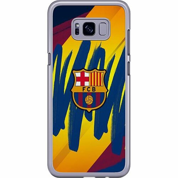 Samsung Galaxy S8 Plus Hard Case (Transparent) FC Barcelona
