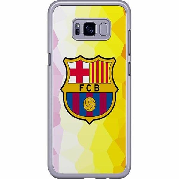 Samsung Galaxy S8 Plus Hard Case (Transparent) FC Barcelona
