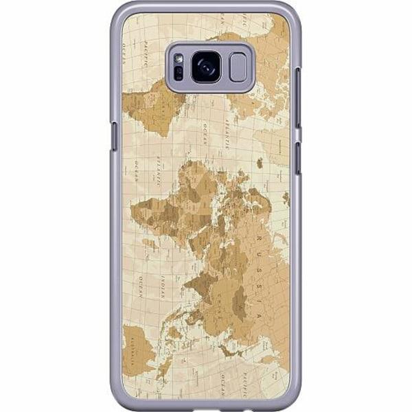 Samsung Galaxy S8 Plus Hard Case (Transparent) Map