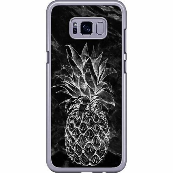 Samsung Galaxy S8 Plus Hard Case (Transparent) Marmor Ananas