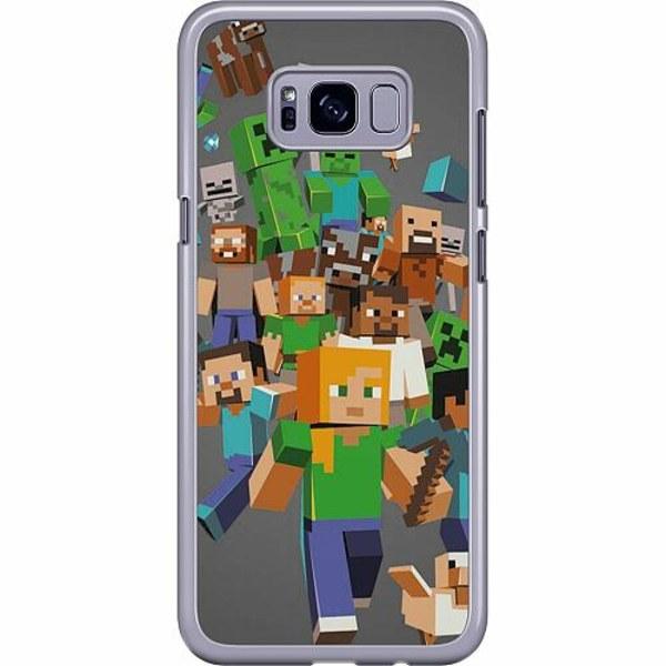 Samsung Galaxy S8 Plus Hard Case (Transparent) Mönster