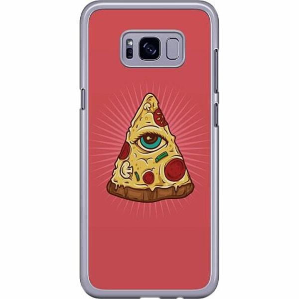 Samsung Galaxy S8 Plus Hard Case (Transparent) Pizza