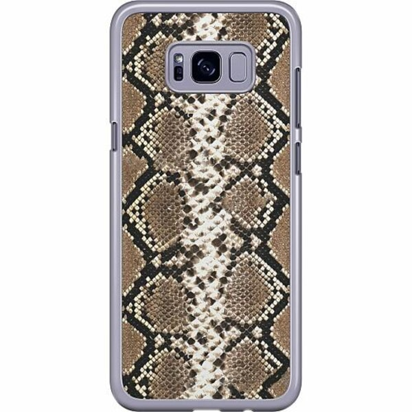 Samsung Galaxy S8 Plus Hard Case (Transparent) Snakeskin