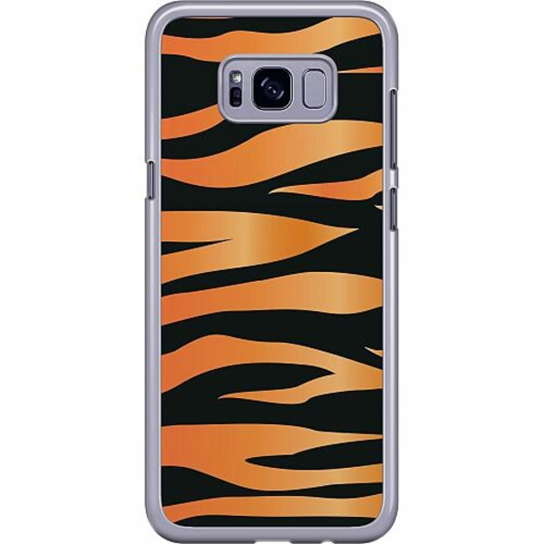 Samsung Galaxy S8 Plus Hard Case (Transparent) Tiger Mönster