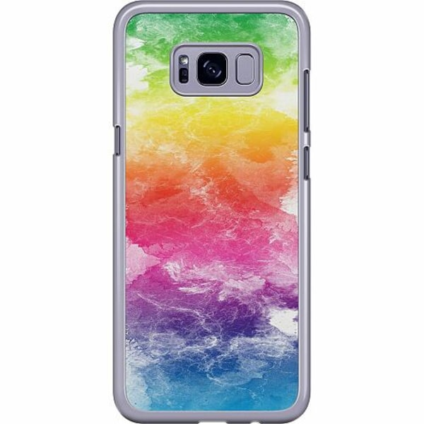 Samsung Galaxy S8 Plus Hard Case (Transparent) Watercolor Fade