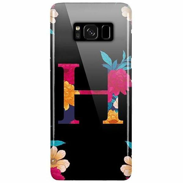 Samsung Galaxy S8 Plus Lux Mobilskal (glansig) Bokstaven - H