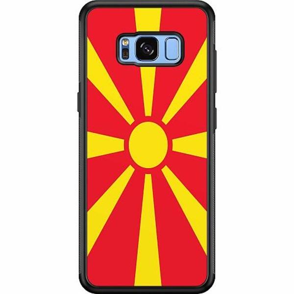 Samsung Galaxy S8 Soft Case (Svart) Macedonia