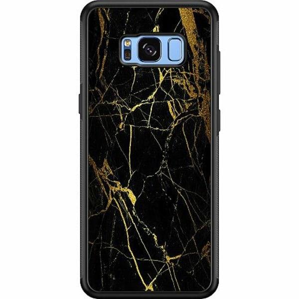 Samsung Galaxy S8 Soft Case (Svart) Marmor