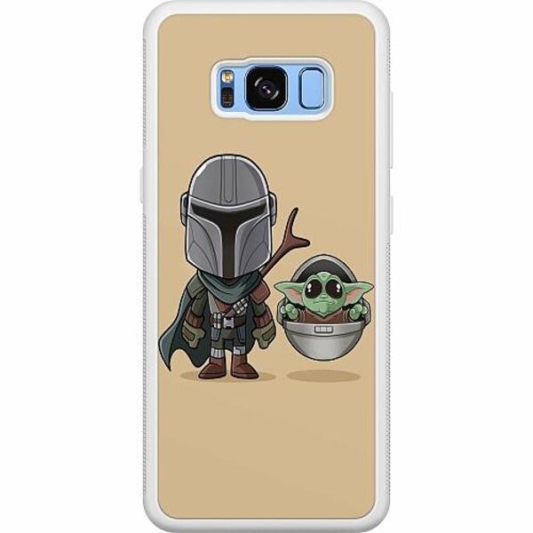 Samsung Galaxy S8 Soft Case (Vit) Baby Yoda