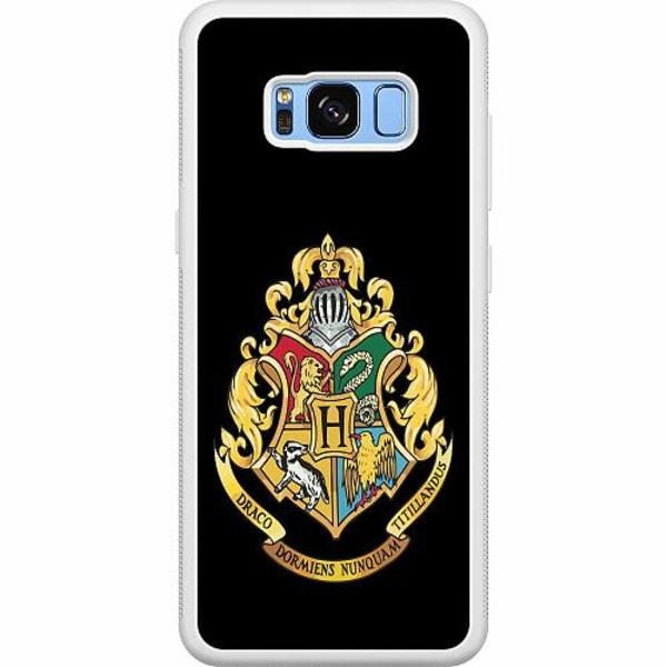 Samsung Galaxy S8 Soft Case (Vit) Harry Potter