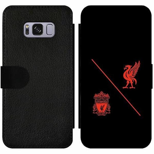 Samsung Galaxy S8 Wallet Slim Case Liverpool L.F.C.