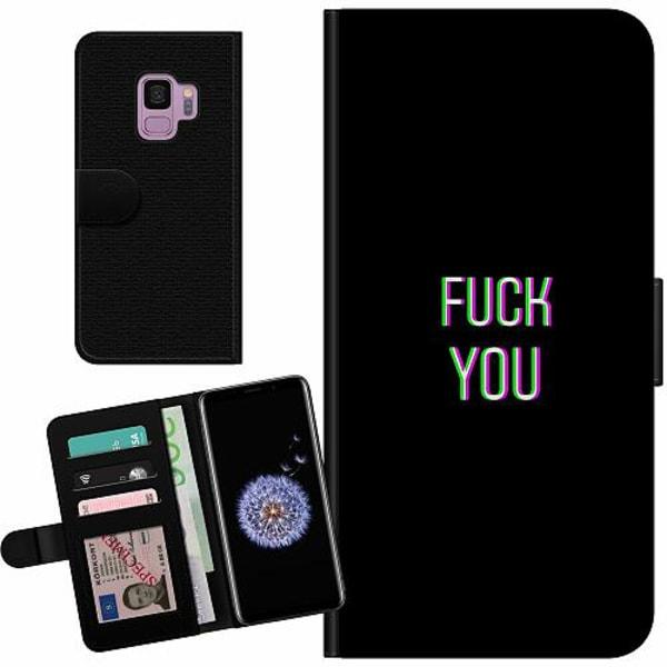Samsung Galaxy S9 Billigt Fodral FUCK YOU *