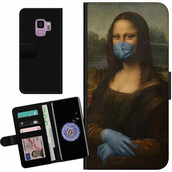 Samsung Galaxy S9 Billigt Fodral Mona Lisa Mask