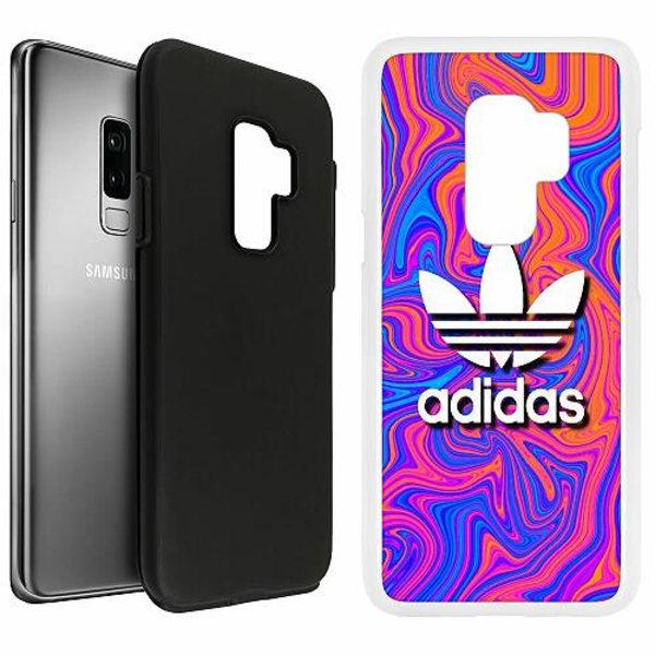 Samsung Galaxy S9+ Duo Case Vit Fashion