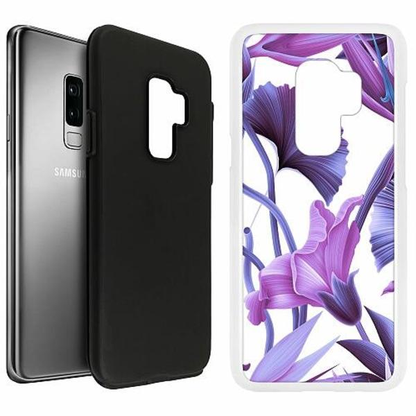 Samsung Galaxy S9+ Duo Case Vit Lilac Bloom