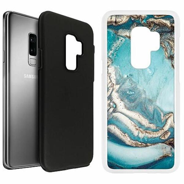 Samsung Galaxy S9+ Duo Case Vit Mönster