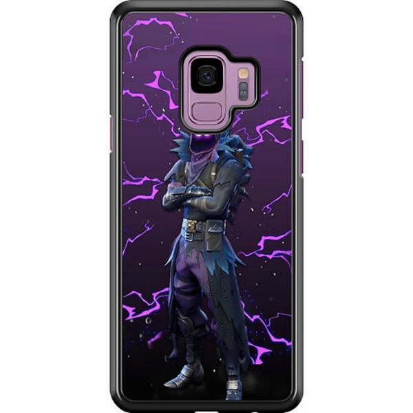 Samsung Galaxy S9 Hard Case (Svart) Raven Fortnite Thunder
