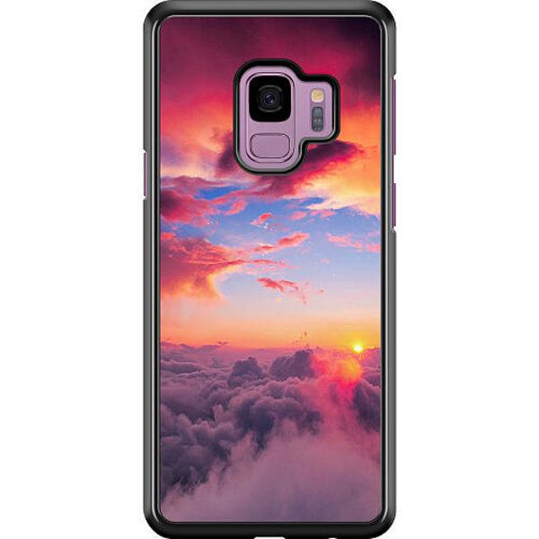 Samsung Galaxy S9 Hard Case (Svart) Lovely Sky