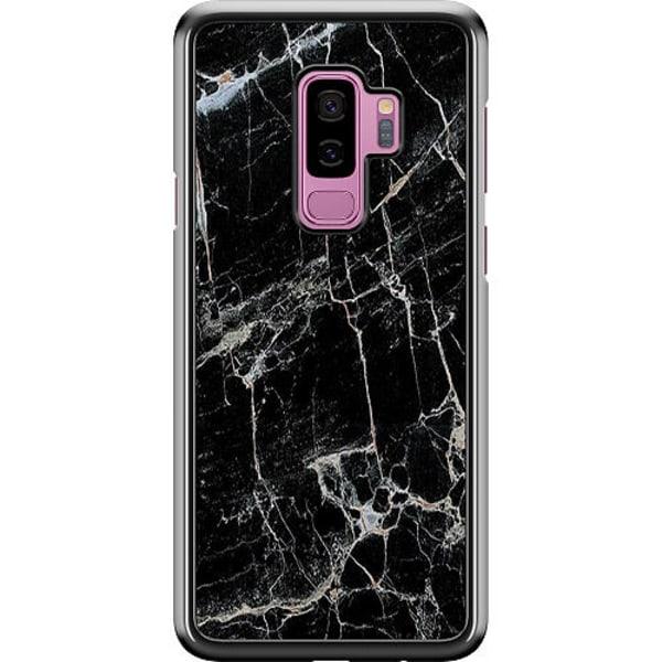 Samsung Galaxy S9+ Hard Case (Black) Marmor Svart