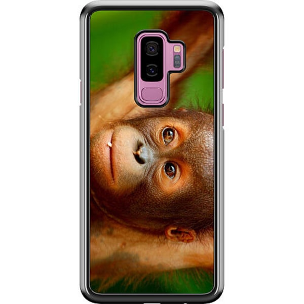 Samsung Galaxy S9+ Hard Case (Black) Monkey