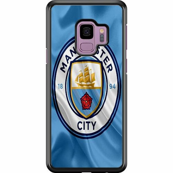 Samsung Galaxy S9 Hard Case (Svart) Manchester City
