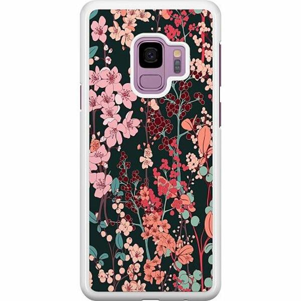 Samsung Galaxy S9 Hard Case (Vit) Herbaceous Retro