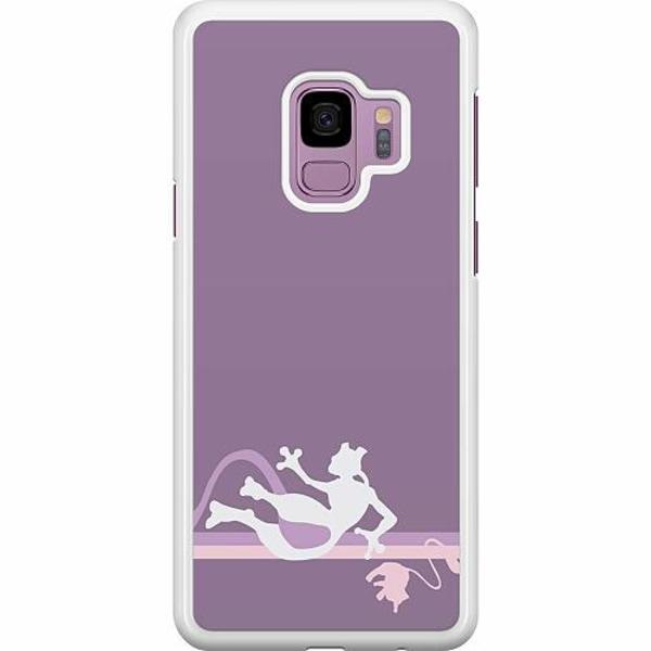 Samsung Galaxy S9 Hard Case (Vit) Pokémon - Mew & Mewtwo