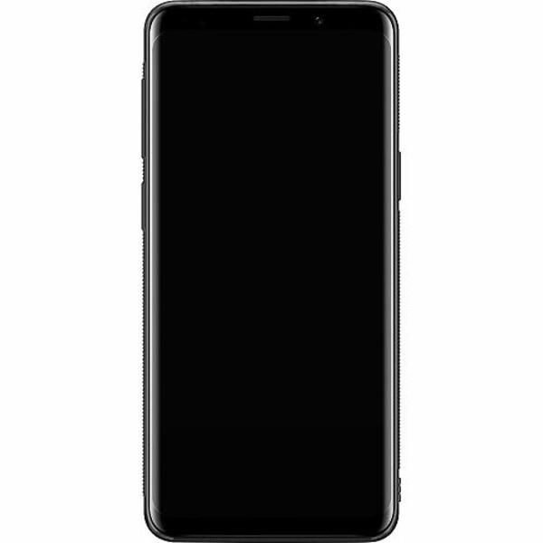 Samsung Galaxy S9 Soft Case (Svart) Baby Yoda