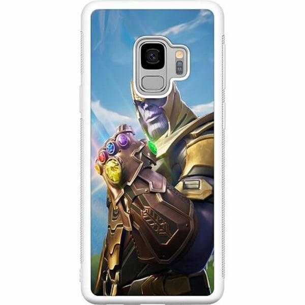 Samsung Galaxy S9 Soft Case (Vit) Fortnite