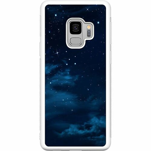 Samsung Galaxy S9 Soft Case (Vit) Himmel
