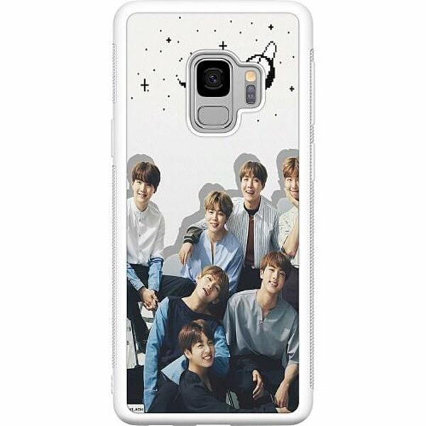 Samsung Galaxy S9 Soft Case (Vit) K-POP BTS