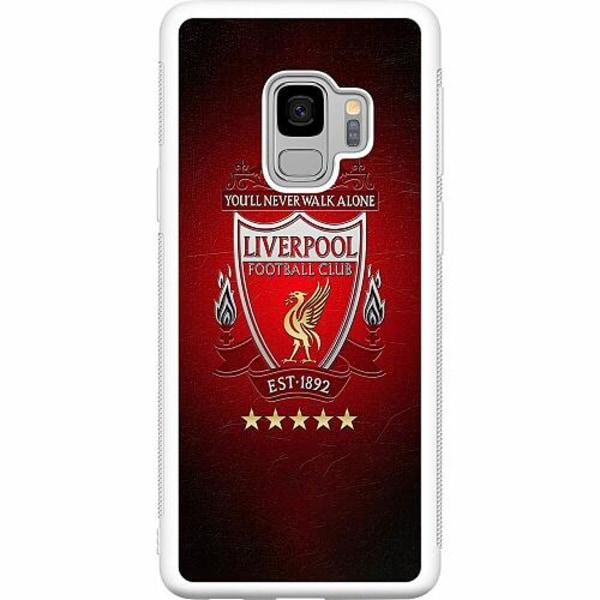 Samsung Galaxy S9 Soft Case (Vit) Liverpool