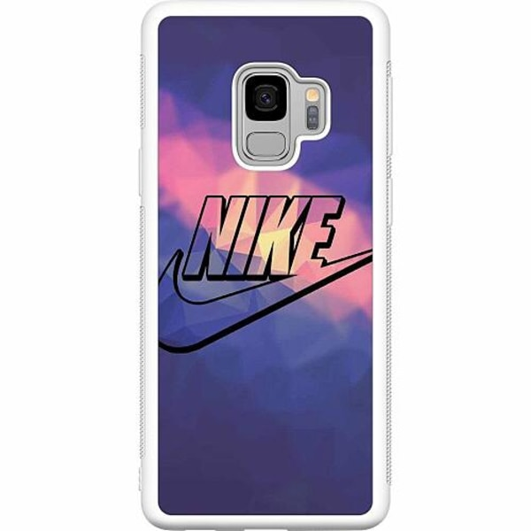 Samsung Galaxy S9 Soft Case (Vit) Nike