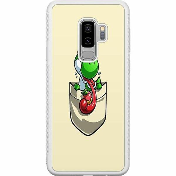 Samsung Galaxy S9+ Soft Case (Vit) Pocket Dino