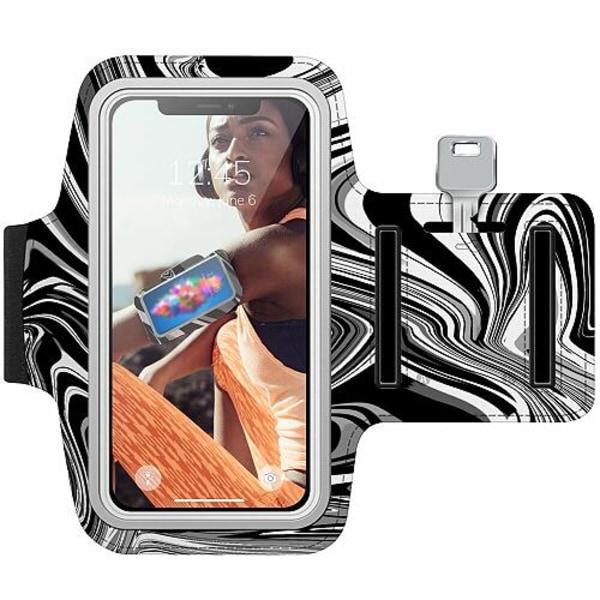 Samsung Galaxy Note 4 Träningsarmband / Sportarmband -  Pattern