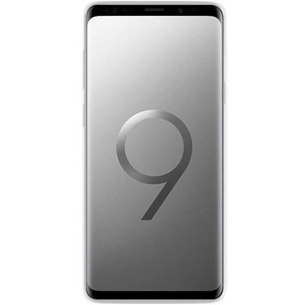 Samsung Galaxy S9 Transparent Mobilskal med Glas Pattern