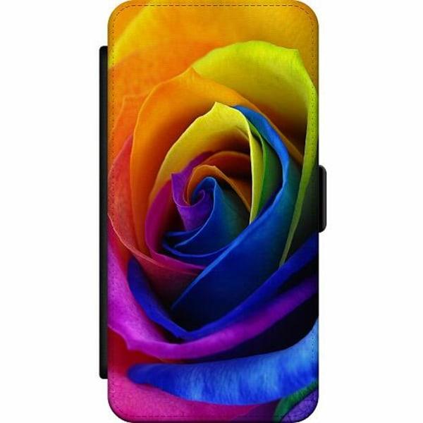 Samsung Galaxy Note 20 Wallet Slim Case Rainbow Rose