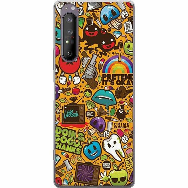 Sony Xperia 1 II Thin Case Stickers