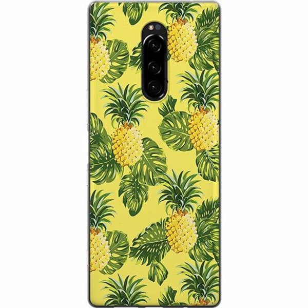 Sony Xperia 1 Mjukt skal - Ananas