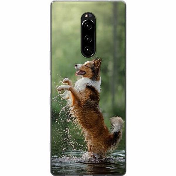 Sony Xperia 1 Mjukt skal - Hund