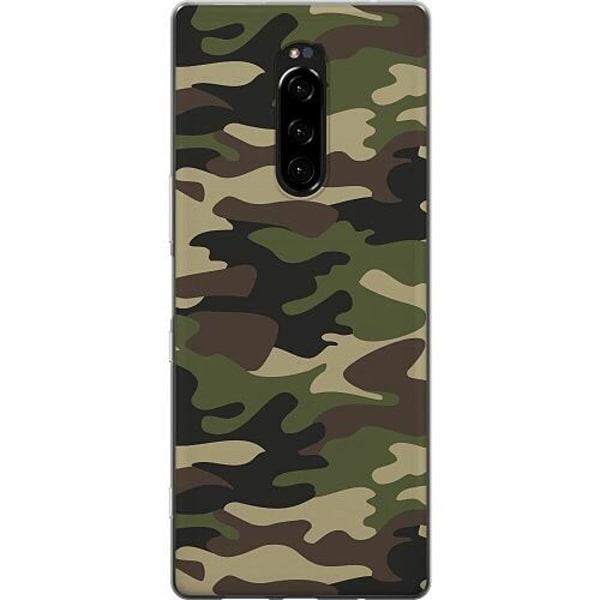 Sony Xperia 1 Mjukt skal - Militär