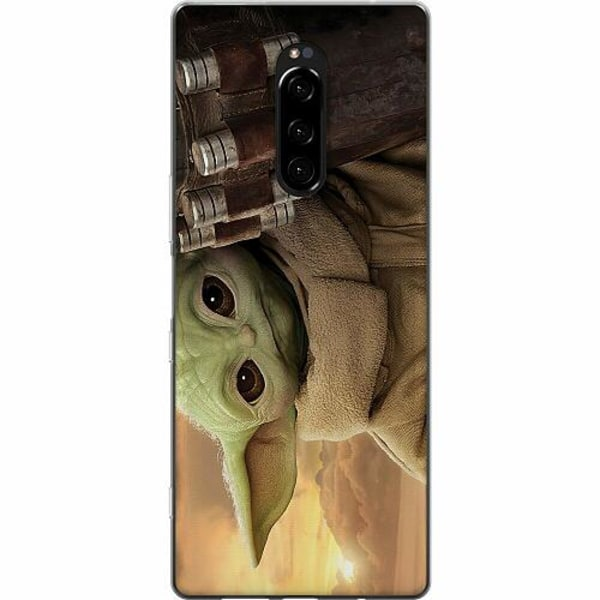 Sony Xperia 1 Mjukt skal - Baby Yoda