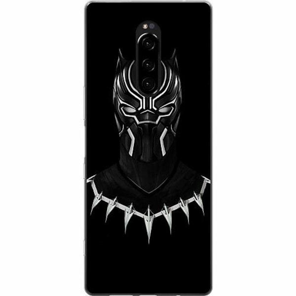 Sony Xperia 1 Mjukt skal - Black Panther
