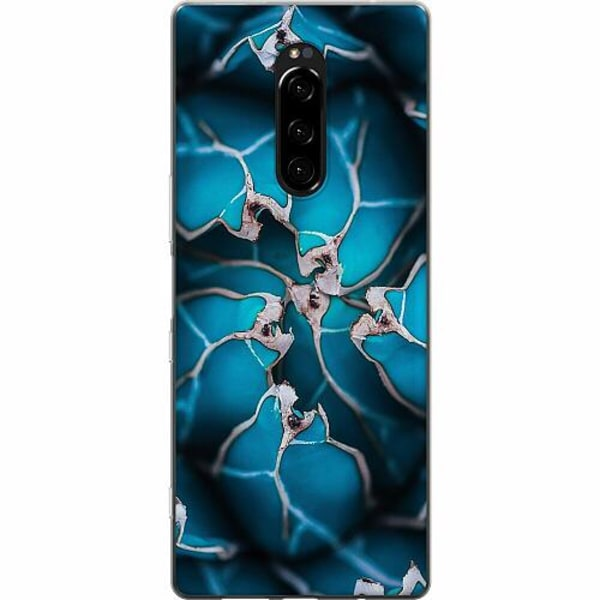 Sony Xperia 1 Mjukt skal - Cactus And Lime